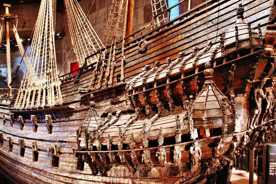 Museo Vasa en Estocolmo en Suecia