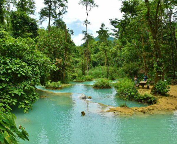 Cataratas Kuang Si en Laos