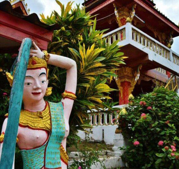 Rincón de Luang Prabang en Laos