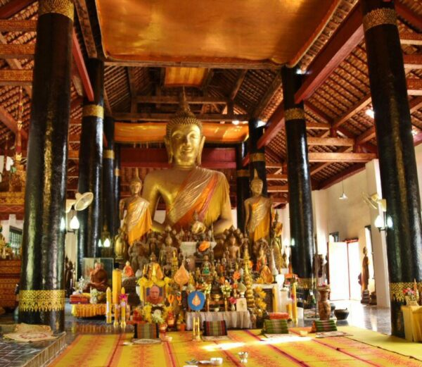 Templo en Luang Prabang en Laos