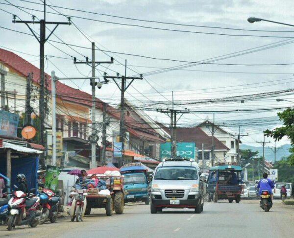 Transporte en Laos