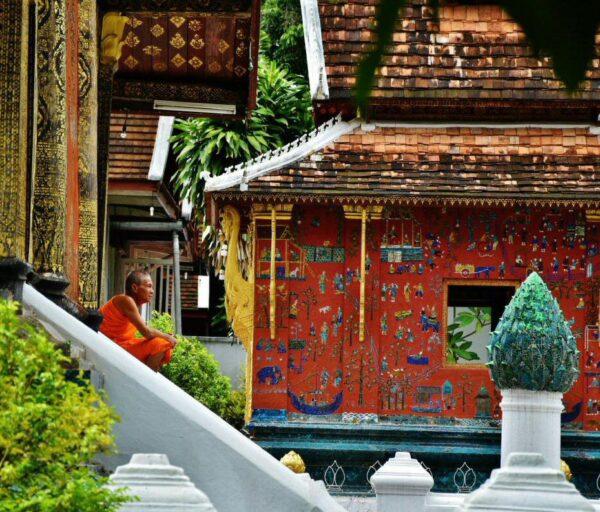 Templo de Wat Xieng Thong en Laos