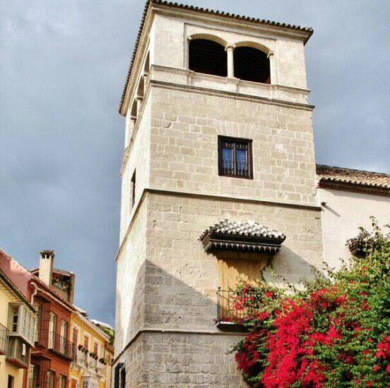 Torre mudéjar del museo Picasso de Málaga