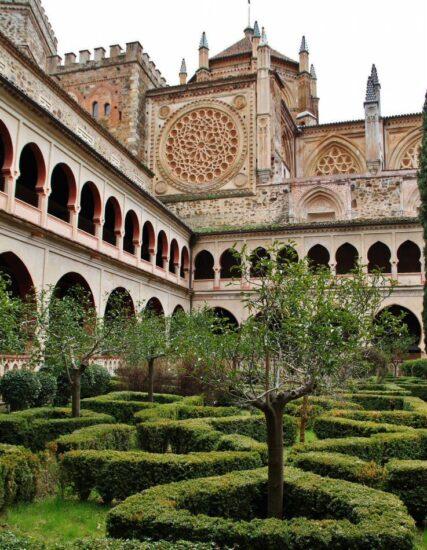 Monasterio de Guadalupe en Cáceres en Extremadura