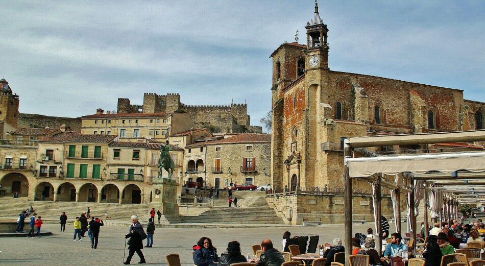 24a04e39a17 Plaza Mayor de Trujillo en la provincia de Cáceres en Extremadura