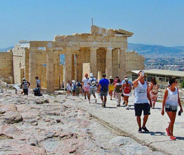 La Acrópolis de Atenas en Grecia
