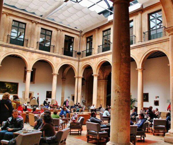 Palacio Ducal, ahora parador nacional de Lerma en Burgos