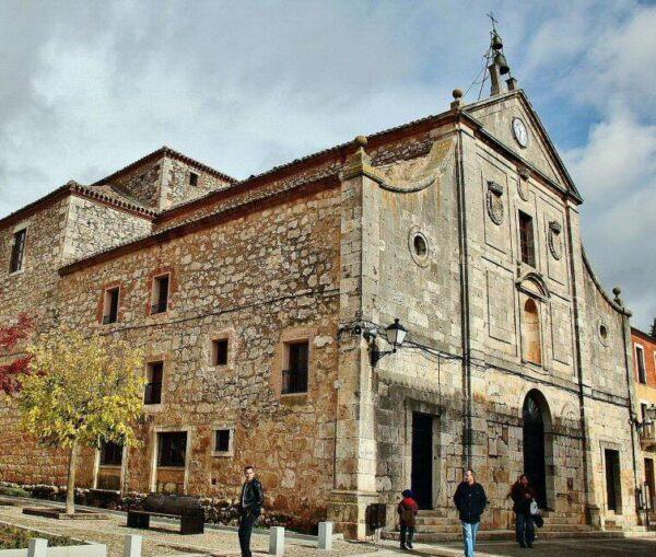 Colegiata de San Pedro en Lerma en la provincia de Burgos