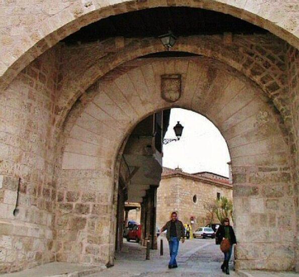 Arco de la Cárcel en Lerma en Burgos