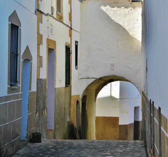 Barrio Judío de Alcántara en Cáceres