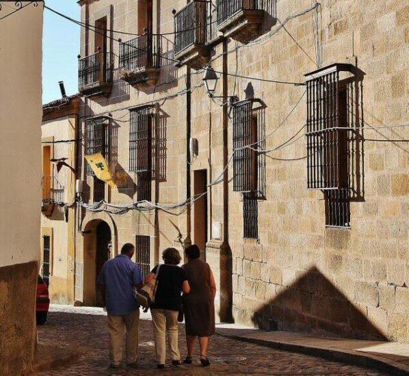 Rincón de Alcántara en Cáceres en Extremadura