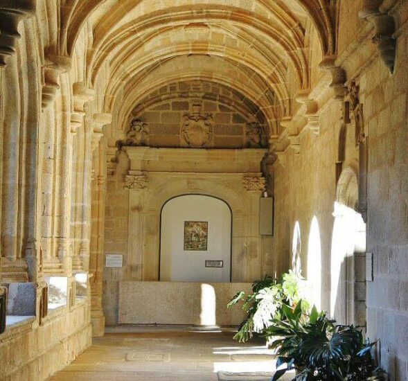 Conventual de San Benito en Alcántara en Cáceres en Extremadura