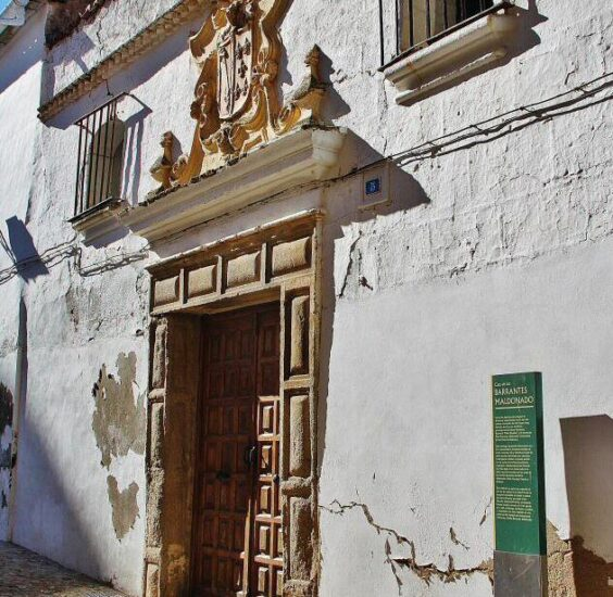Casa palaciega en Alcántara en Cáceres en Extremadura