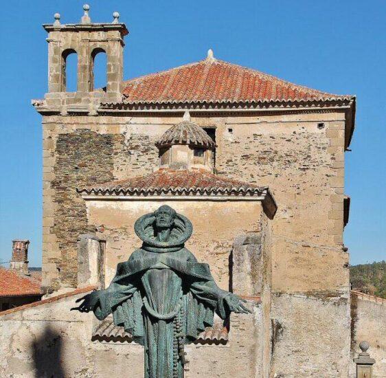 Iglesia de San Pedro de Alcántara en Alcántara en Cáceres