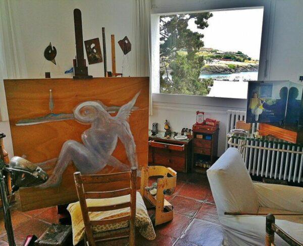 Taller en la Casa Museo Dalí de Portlligat en Cadaqués