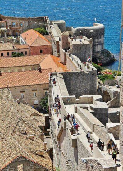 Murallas de Dubrovnik en Croacia