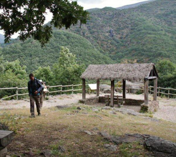 Mirador en la Garganta de los Infiernos del Valle del Jerte
