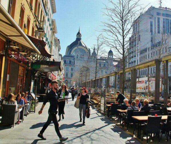 Avenida Meir en Amberes