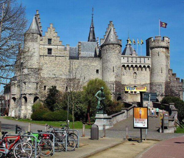 T Steen, castillo de Amberes