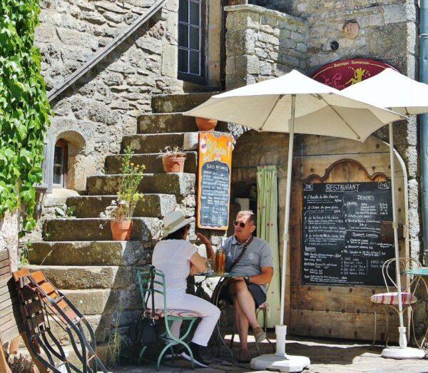 La Couvertoirade en Occitania al sur de Francia