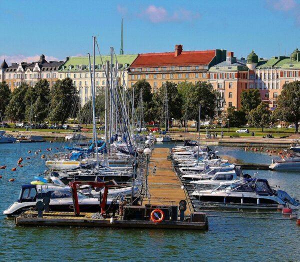 Crucero por los alrededores de Helsinki
