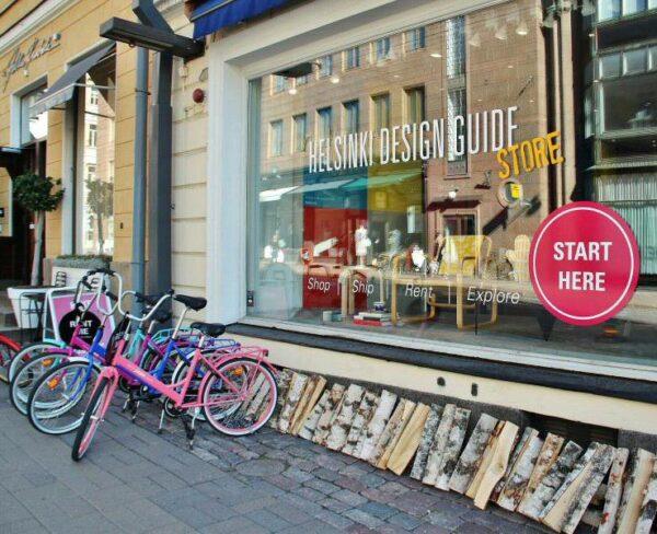 Tienda del Distrito del Diseño en Helsinki