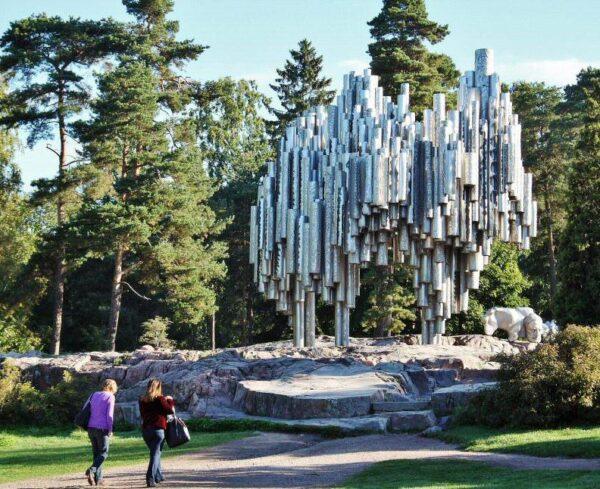 Monumento a Sibelius en Helsinki