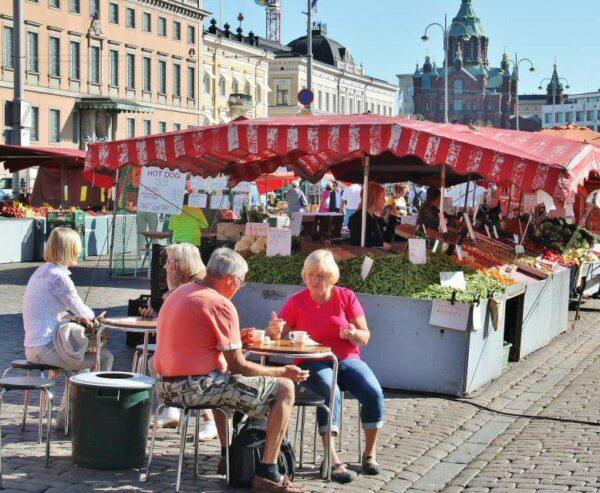 Plaza del Mercado de Helsinki