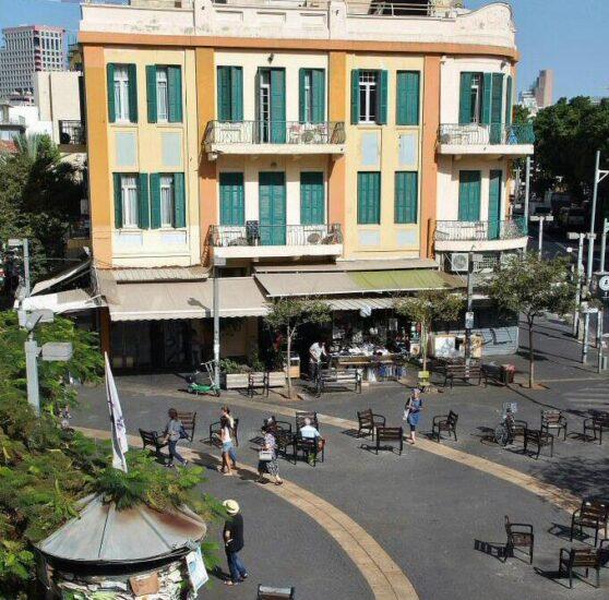 Histórico rincón de Tel Aviv en Israel