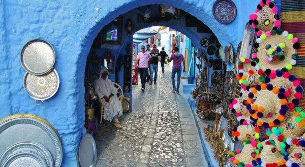 Medina de Chefchaouen al norte de Marruecos