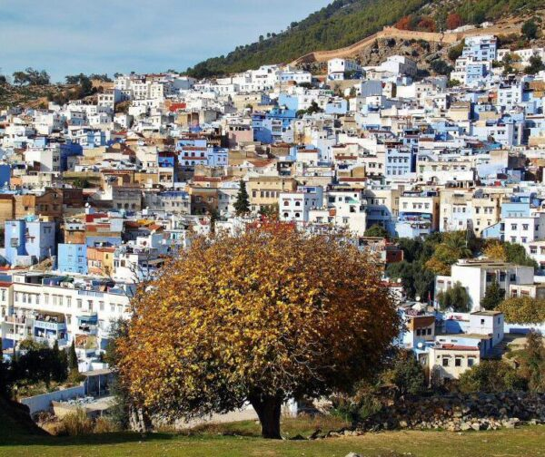 Chefchaouen al norte de Marruecos
