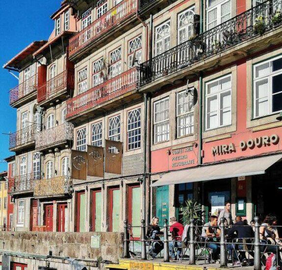 Rincón del casco antiguo de Oporto