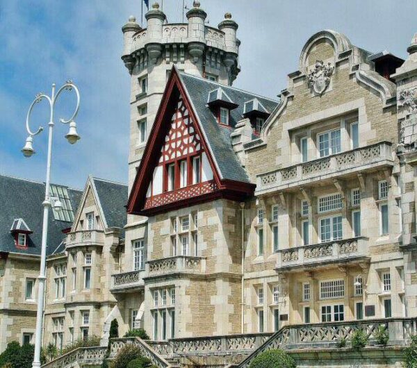 Palacio de la Magdalena en Santander en Cantabria