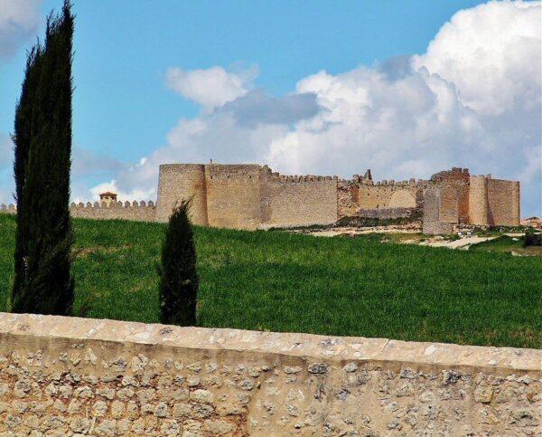 Vistas de Urueña desde la Ermita de la Anunciada en Valladolid
