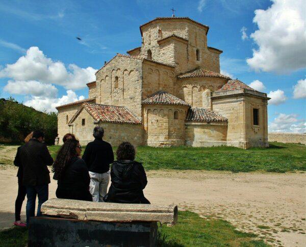 Ermita de la Anunciada en Urueña en la provincia de Valladolid