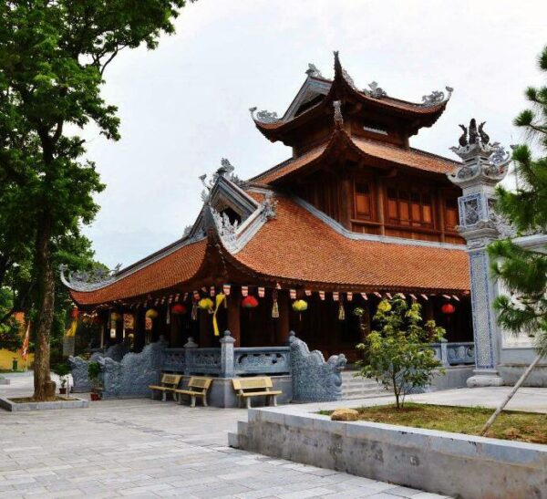 Templo budista en Vietnam