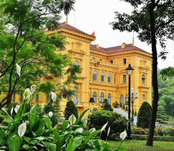 Palacio Presidencial de Hanoi en Vietnam