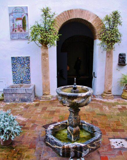 Patio del Palacio de Viana en Cordoba