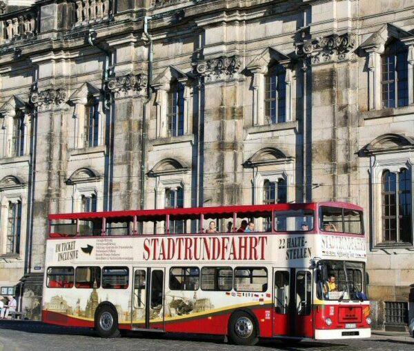 Autobús turístico City Tour en Dresde