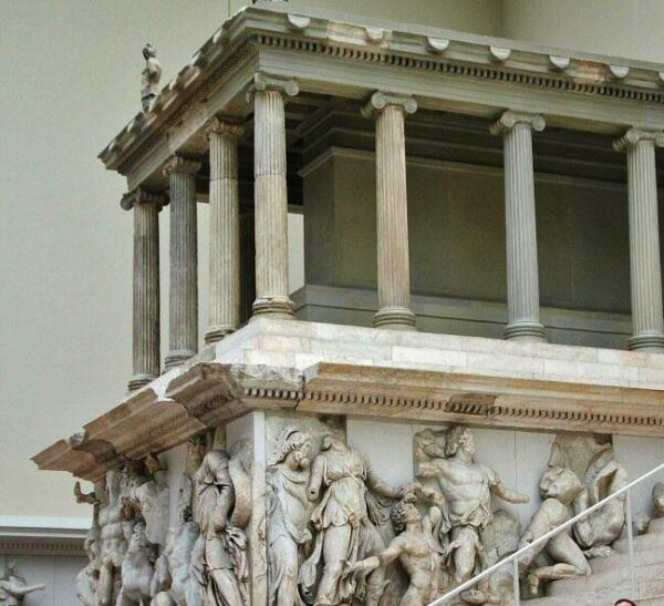 Altar de Pérgamo en el Museo de Pérgamo de Berlín