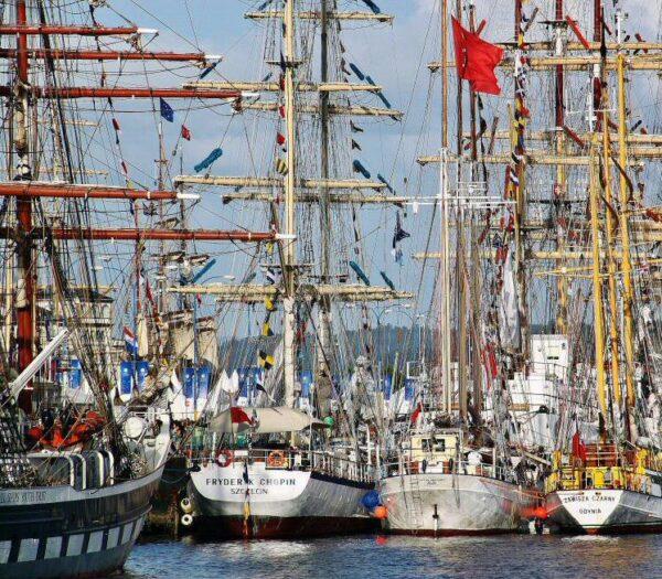 Regata Tall Ships en el puerto de A Coruña