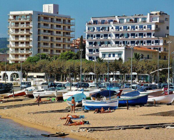 Palamós en la Costa Brava de Cataluña
