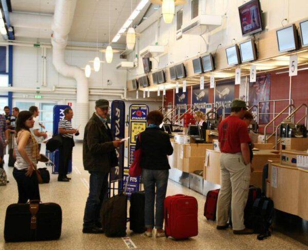 Aeropuerto de Skavsta en Estocolmo