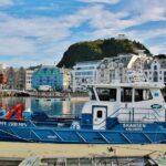 Puerto de Alesund en Fiordos de Noruega