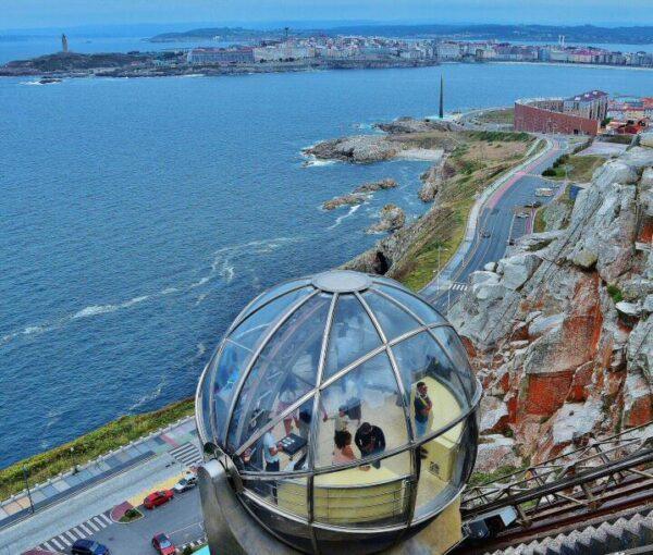 Mirador de San Pedro en A Coruña