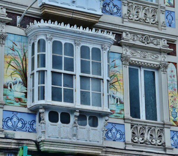 Edificio del centro de A Coruña