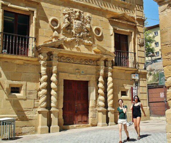 Palacio de los Condes de Haro en Haro en La Rioja