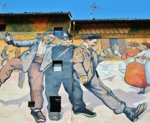 Grafiti en La Herradura de Haro en La Rioja