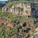 Paisajes en Siurana en el Priorat de Tarragona