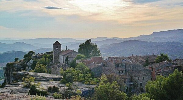 Atardecer en Siurana en el Priorat de Tarragona